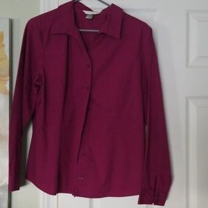 Christopher and Banks button up blouse